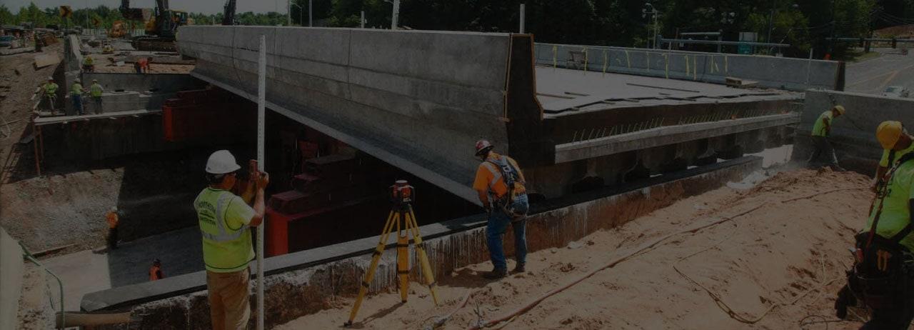 I-84 bridge construction